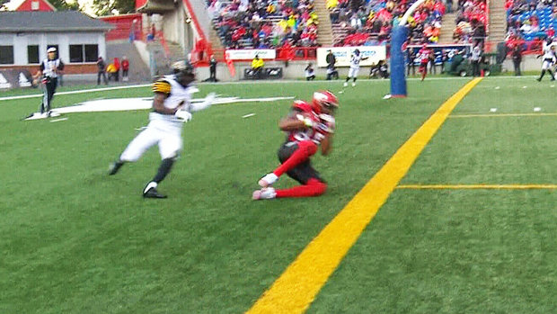 Mitchell finds Jorden to extend the Stamps' lead