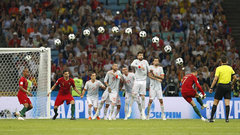 Free kick wizardry lighting up the FIFA World Cup