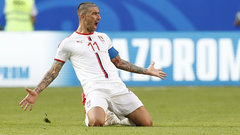 Kolarov produces set piece magic to power Serbia past Costa Rica