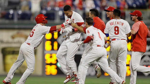 MLB: Cardinals 5, Phillies 6 (10)