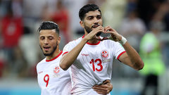 Sassi ties game for Tunisia from the penalty spot