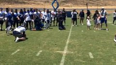 Must See: Rams pull off field-goal-inspired gender reveal