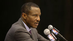 Pistons introduce Casey as new head coach