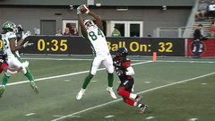 CFL Must See: Williams-Lambert climbs the ladder to bring home a touchdown