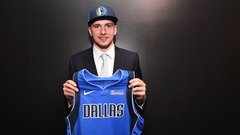 Doncic's whirlwind draft experience