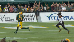 CFL Must See: Reilly airs one out to Williams for 88 yard major