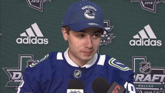 Hughes thrilled to join Canucks organization