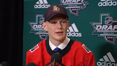 Tkachuk on being selected by Sens: 'I'm super happy right now'