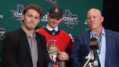 Tkachuk family all smiles at NHL Draft