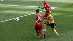 Hazard's brace kicks off the second half for Belgium