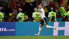 Breathtaking Germany guided by Kroos' miracle goal