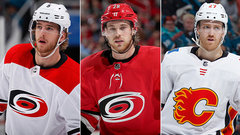 Flames acquire Hanifin, Lindholm from Hurricanes for Hamilton, Ferland, Fox