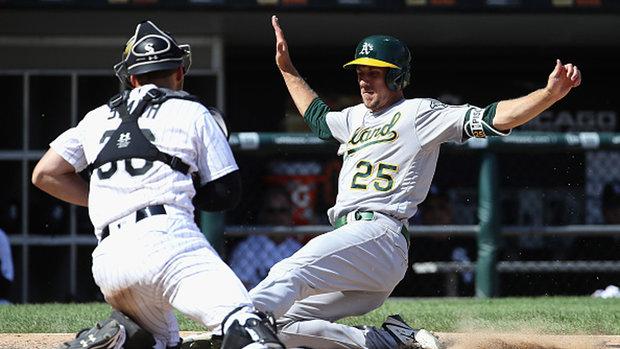 MLB: Athletics 7, White Sox 6
