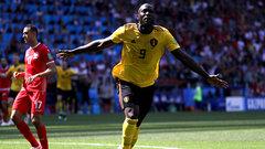 Lukaku doubles Belgium's lead