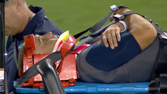 Scary moment in Toronto as Ricky Ray is carted off the field