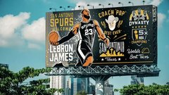 What if all 30 teams made their pitch to LeBron via billboard?