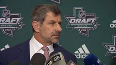 Bergevin: I am extremely happy with our pick