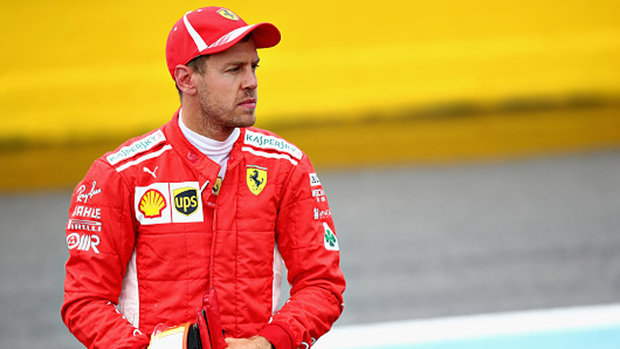 Hauraney: Vettel isn't keeping his cool, pressure is getting to him