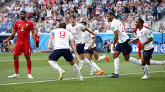 England pull of perfect set piece to add a fourth against Panama
