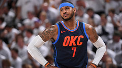 Rose hopes Melo 'ages gracefully' in OKC