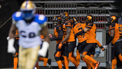 CFL: Blue Bombers 21, Lions 34