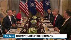 Trump tears into Germany's energy policy at NATO summit