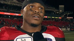 Jackson: 'My offensive line are straight dogs'