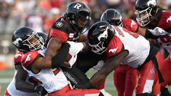 Stamps' D puts on a show on TNF