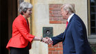 Trump tells May her Brexit plan will kill off U.S. trade deal