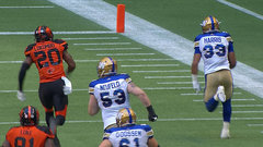 Harris hurries in to open scoring for Bombers