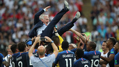 Led by Deschamps, France came together to win FIFA World Cup