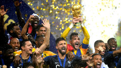 Must See: France lifts 2018 FIFA World Cup trophy 20 years after first title