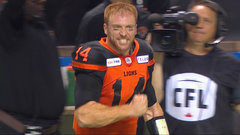 CFL: Blue Bombers 17, Lions 20