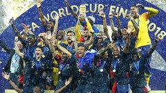 FIFA World Cup: France 4, Croatia 2
