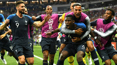 Pogba pounces on own rebound to score France's third goal