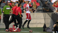 Franklin: Stampeders concerned but 'not overly worried' with Mitchell's injury