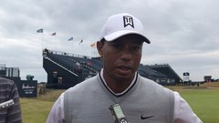 Tiger says the Carnoustie fairways are faster than the greens