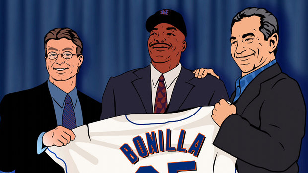 How Bonilla's infamous 25-year buyout came to fruition