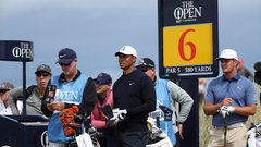 Tiger liking his chances at Carnoustie