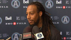 McCluster adjusting to 'fast pace' of the CFL game