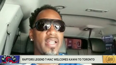 Former Raptors star McGrady welcomes Kawhi to Toronto