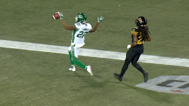 Jones' 61-yard punt return extends Riders' lead