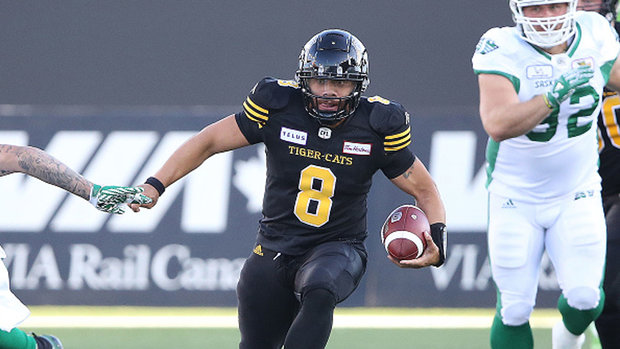 Masoli's record pursuit runs into Riders' D