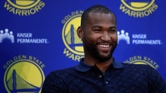 Cousins jokes about his new Warriors teammates: 'My favourite, by far, is Klay'