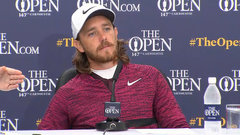 Fleetwood pleased with second round play in 'tough conditions'