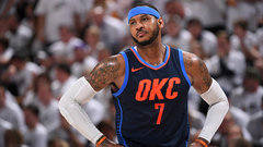 Barkley: Rockets not better with Melo starting