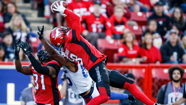 CFL: Alouettes 8, Stampeders 25