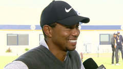 Back in contention, Woods analyzes third round: 'I played so well'