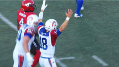 Shiltz finds Cunningham to get the Alouettes into the game