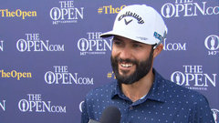 Despite windy conditions, Hadwin enjoys 'completely different, fun' links golf